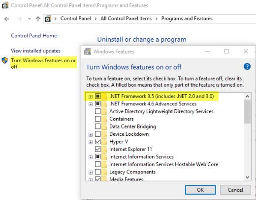 SQL Server Express Prerequisites